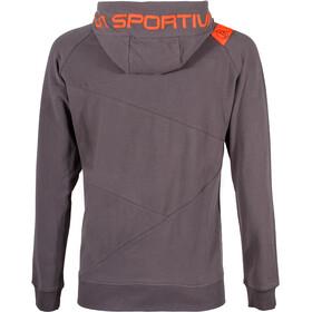 La Sportiva Magic Wood Hoodie Herren carbon/tangerine